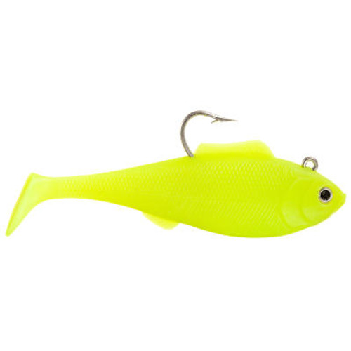 "Tsunami Heavy Swim Shad 6.5"" 2 pack Opaque Chartreuse"