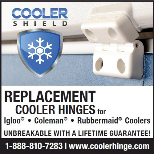 Cooler Shield Replacement Cooler Hinges for Coleman Coolers Pair