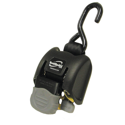 "BoatBuckle G2 Retractable Transom Tie-Down - 14-43"" - Pair"