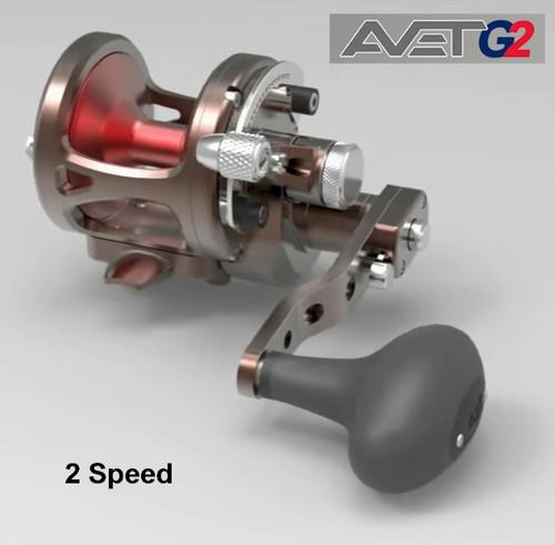 Avet G2 SXJ 6/4 Two Speed Neptune's Heart Color