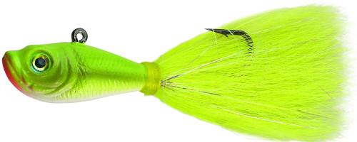Spro Prime Bucktail Jig 1/2oz Crazy Chartreuse