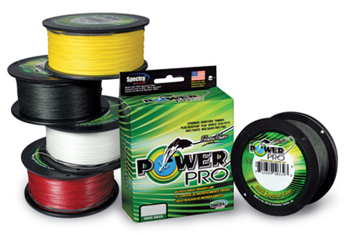 PowerPro Braided Spectra Fiber Fishing Line - 1500 yds