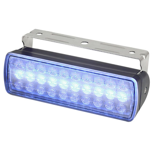 Hella Marine Sea Hawk XL Dual Color LED Floodlights - Blue\/White LED - Black Housing