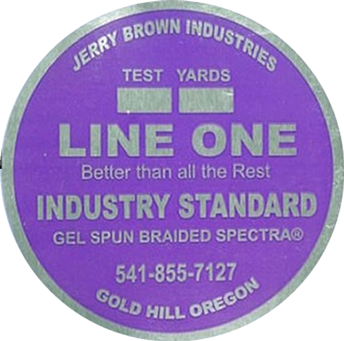 Jerry Brown Line One Solid Spectra - 2500 yds