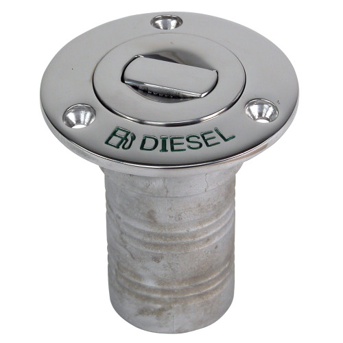 "Whitecap Bluewater Push Up Deck Fill - 1-1\/2"" Hose - Diesel"