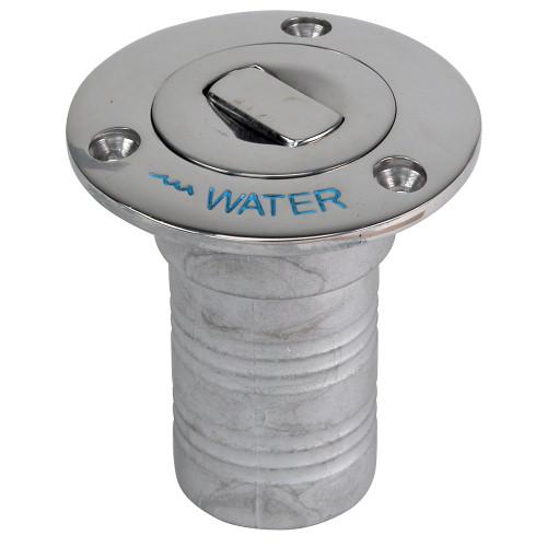 "Whitecap Bluewater Push Up Deck Fill - 1-1\/2"" Hose - Water"
