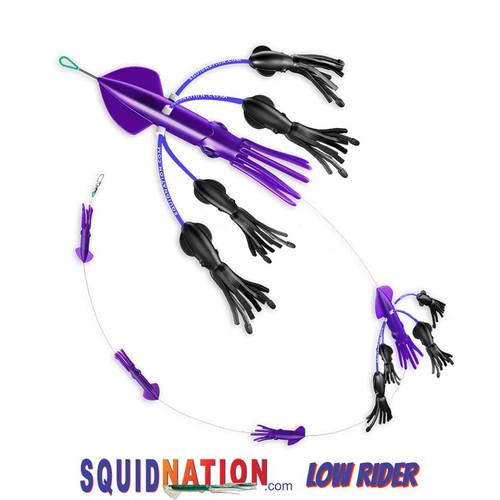 Squidnation Low Rider Flippy Floppy Chain Purple Black