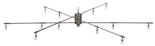 Strike Point Tackle 6-Arm Collapsible Dredge Bar 36""