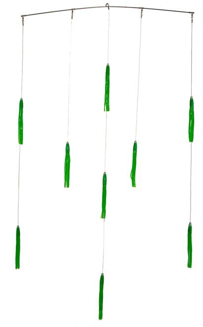 """Squidnation Green Maching Spreader Bar 9"""""""