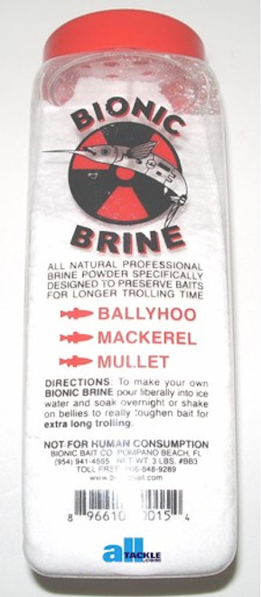 Bionic Brine 3lb Bottle