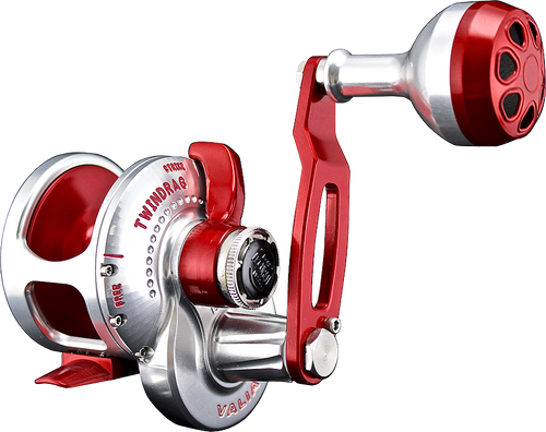 Accurate Valiant Single Speed Left Hand Reel w/ Clicker BV-300CL