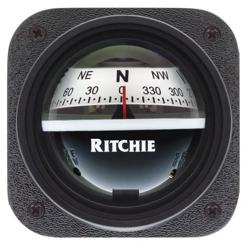 Ritchie V-527 Kayak Compass - Bulkhead Mount - White Dial