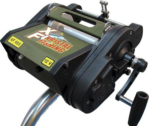 Kristal Electric Reel XF655-24V Manual Override Levelwind