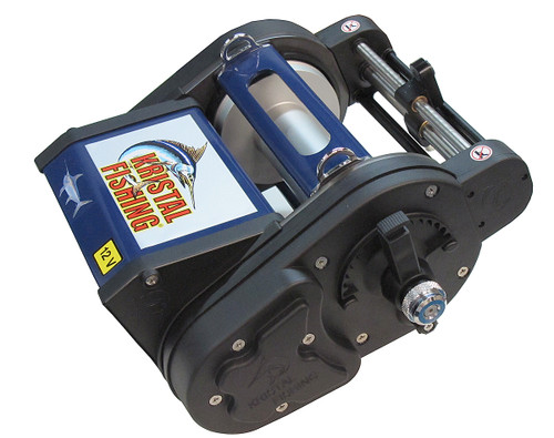 Kristal Electric Reel XL651-12V Levelwind