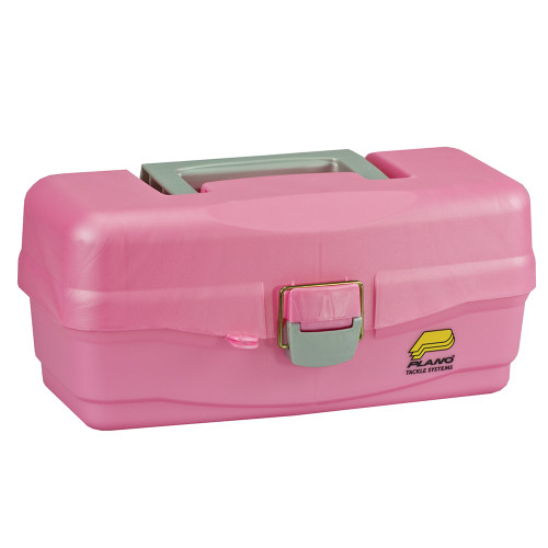 Plano Youth Tackle Box w\/Lift Out Tray - Pink