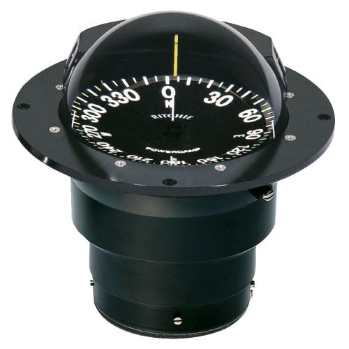Ritchie FB-500 Globemaster Compass - Flush Mount - Black - 12V - 5 Degree Card