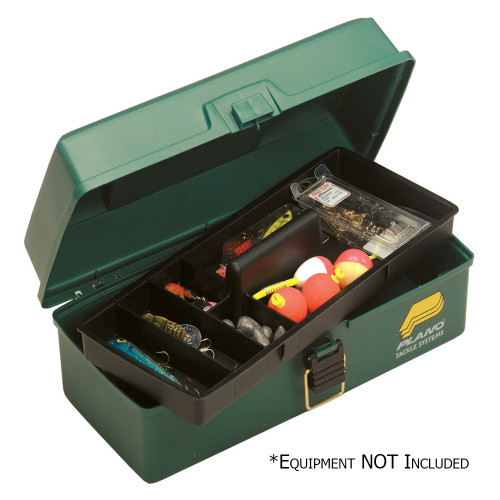 Plano One-Tray Tackle Box - Green