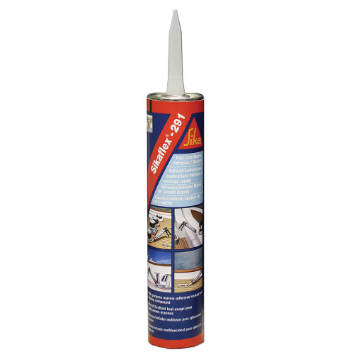 Sika Sikaflex 291 Fast Cure Adhesive  Sealant 10.3oz(300ml) Cartridge - Black