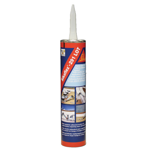 Sika Sikaflex 291 LOT Slow Cure Adhesive  Sealant 10.3oz(300ml) Cartridge - White