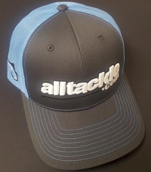 Alltackle Fishing Hat - 3D - Black/Blue