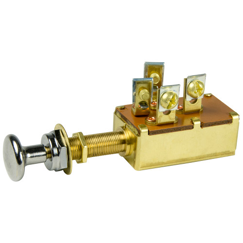 BEP 3-Position SPDT Push-Pull Switch - OFF\/ON1  2\/ON1  3