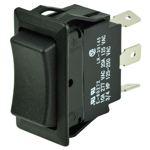 BEP SPDT Rocker Switch - 12V\/24V - ON\/OFF\/ON