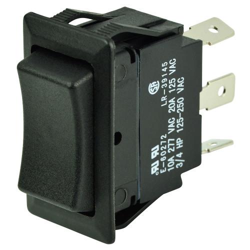 BEP SPDT Rocker Switch - 12V\/24V - (ON)\/OFF\/(ON)