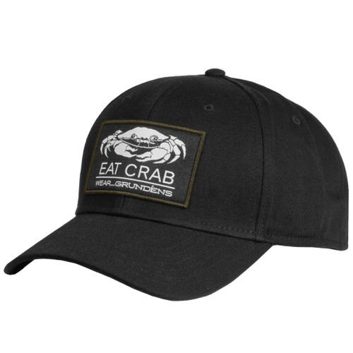 Grundens Eat Crab Wear Grundens Ball Cap - Black
