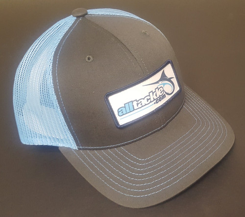 Alltackle Fishing Hat - Logo Box - Black/Blue