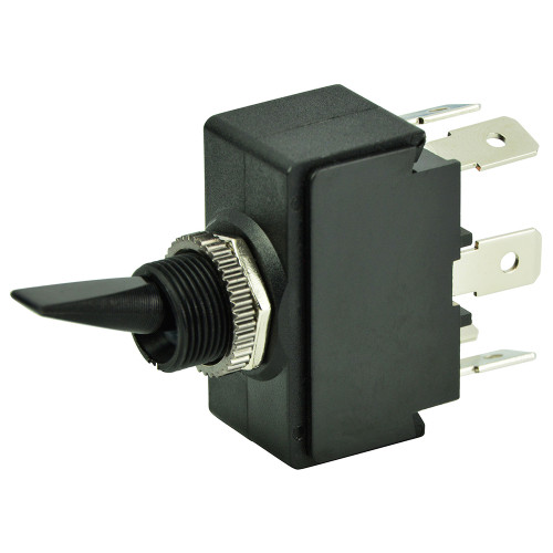 BEP DPDT Toggle Switch - ON\/OFF\/ON