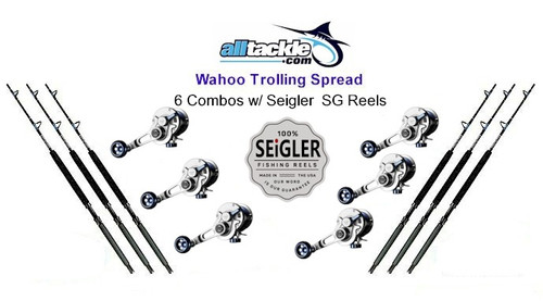 Alltackle Wahoo Tackle Kit w/ Seigler Reels & Crowder Rods