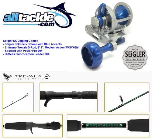 Seigler Combo - SG Reel with Shimano Trevala S Jigging Rod
