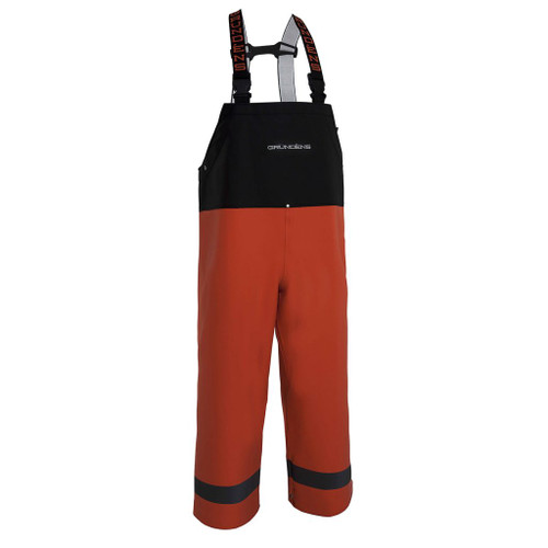 Grundens Balder 504 Bib Pant - Orange