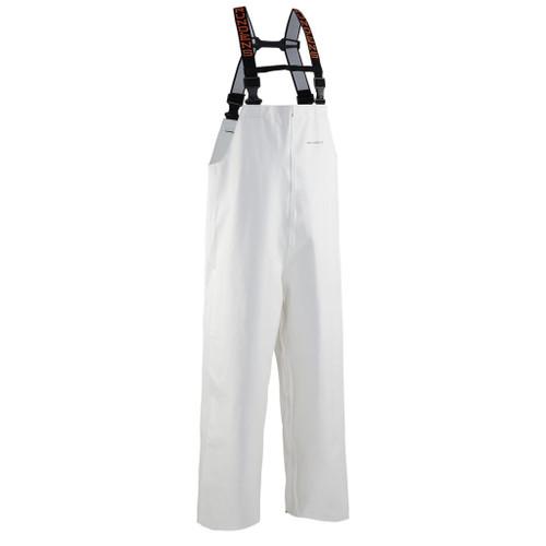 Grundens Clipper 116 Bibs - White - Medium