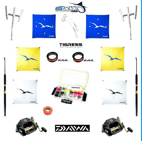 Alltackle Kite Kit with 6 Kites