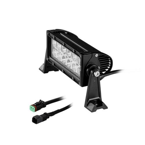 """HEISE Dual Row LED Light Bar - 8"""""""