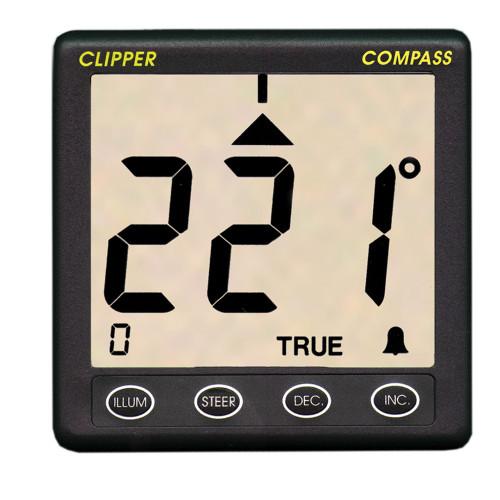 Clipper Compass System w\/Remote Fluxgate Sensor