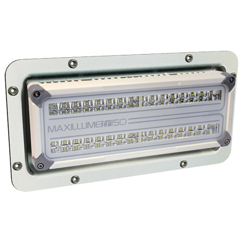 Lumitec Maxillume tr150 LED Flood Light - Recessed Mount
