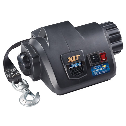 Fulton XLT 10.0 Powered Marine Winch w\/Remote f\/Boats up to 26