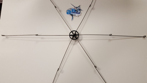 """Squidnation Dredge Bar 6 Arm 36"""" Double Connection Loop"""