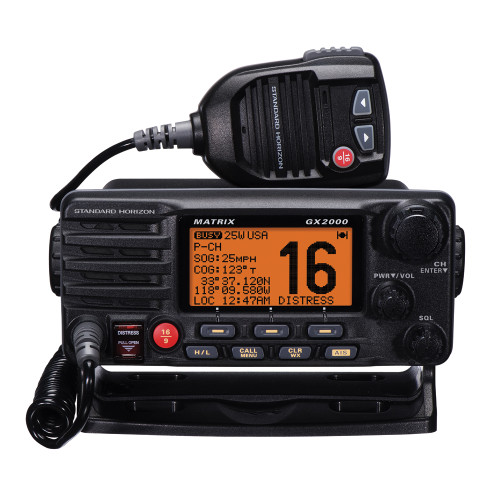 Standard Horizon Matrix GX2000 VHF w\/Optional AIS Input 30W PA