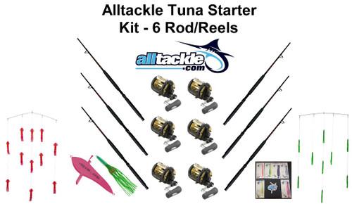 Alltackle Tuna Starter Kit - 6 Combos - TLD50WLRSA