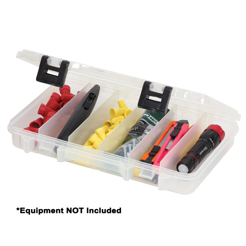 Plano ProLatch Six-Compartment Stowaway 3600 - Clear
