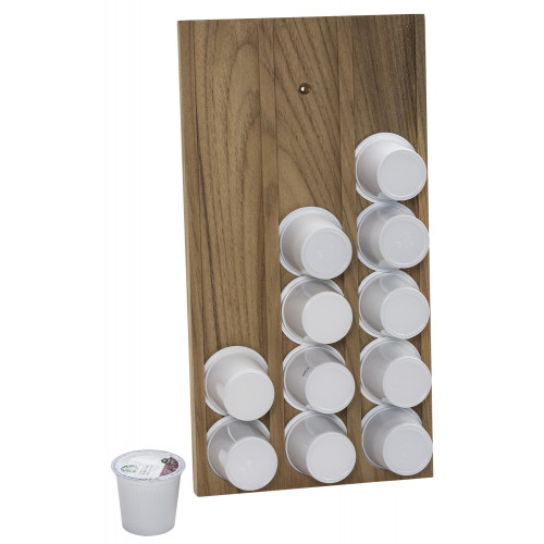 Whitecap Teak Brew Cup\/K-Cup Holder
