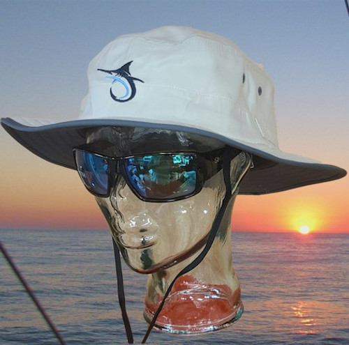 Marlin Hook Solar Sun Hat - Stone