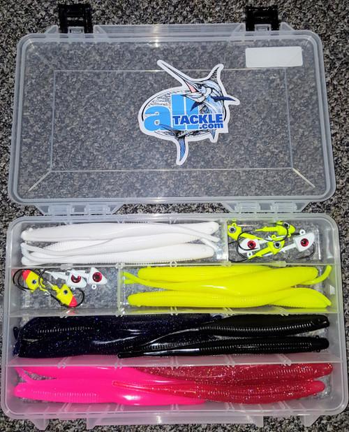 "Bloody Point - Jigging Kit 8"" w/ Tray"