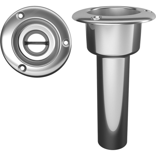 Mate Series Stainless Steel 0 Rod  Cup Holder - Open - Round Top