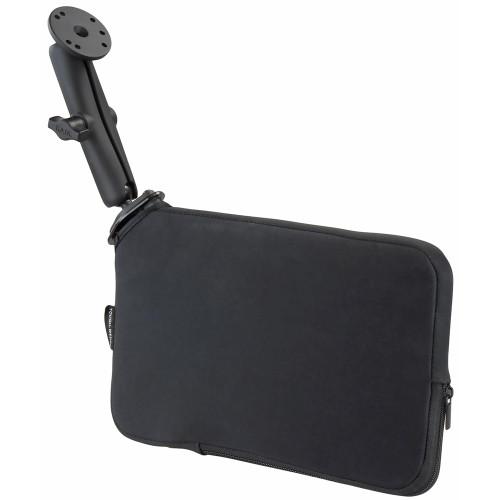 RAM Mount Seat Tough-Wedge w\/Long Double Socket Arm & Round Base