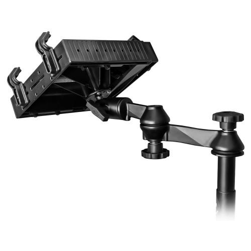 RAM Mount No-Drill Laptop Mount f\/Chevy Silverado 1500\/2500\/3500, Suburban, Tahoe, GMC Sierra 1500\/2500\/3500
