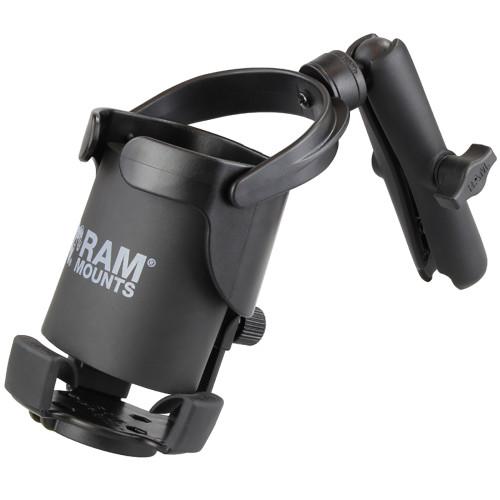 RAM Mount Level Cup XL w\/Long Double Socket Arm